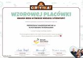 certyfikat misia